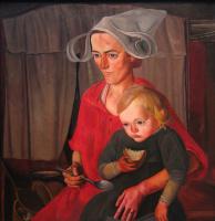 Борис Дмитриевич Григорьев. Бедность. 1925