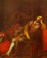 Бартоломе Эстебан Мурильо. Сон (фрагмент)