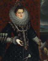 Хуан Пантоха де ла Крус. Инфанта Изабелла Клара Евгения