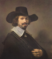 Rembrandt Harmenszoon van Rijn. Portrait of the artist Hendrik Martens Sorgue