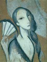 Мари Лорансен. Женщина с косой