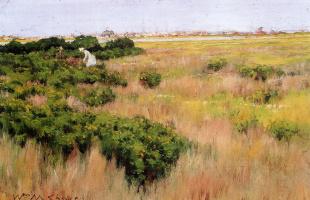 Уильям Меррит Чейз. Пейзаж у Кони-Айленд