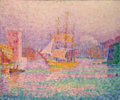 Paul Signac. The Harbor in Marseille