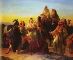 Фридрих Бутервек. В пустыне