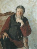 Иван Семенович Куликов. Портрет отца. 1898