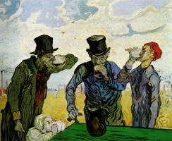 Винсент Ван Гог. Пьяницы (по мотивам Домье)
