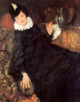 Вильгельм Мария Хубертус Лейбль. Молодая парижанка