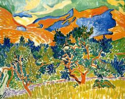 Андре Дерен. Горы в Коллиуре