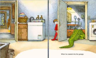Мерсер Мейер. Иллюстрация к книге Там крокодил под моей кроватью 19