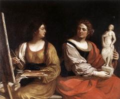 Джованни Франческо Гверчино. Скульптура