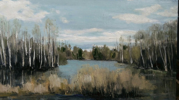 Maxim Baranov. Лесное озеро