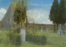 Уолтер Крейн. Протестантское кладбище