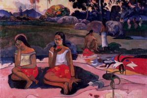 Paul Gauguin. Sacred spring, sweet dreams