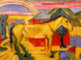 Франц Марк. Лошадь