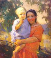 Ада Шульц. Одетый ребенок