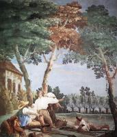 Джованни Доменико Тьеполо. Отдых крестьян