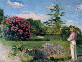 Фредерик Базиль. Маленький садовник