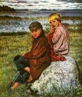 Николай Петрович Богданов-Бельский. Деревенские дети