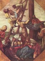 Якопо Тинторетто. Снятие с креста