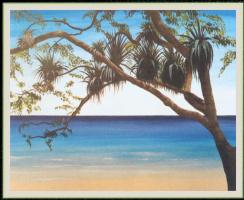 Уильям Вуд. Затененный пляж