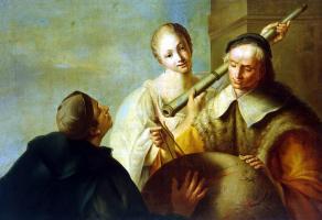 Джузеппе Анджели. Урок астрономии