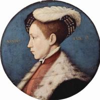 Ганс Гольбейн Младший. Эдуард VI в шестнадцать лет, тондо