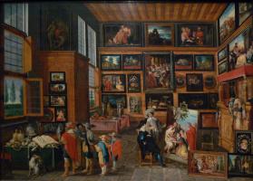 Hans Jordaens III. Кабинет искусств и редкостей