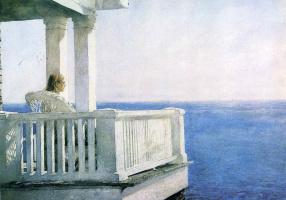 Jamie Wyeth. Balcony