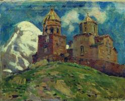 Аполлинарий Михайлович Васнецов. Церковь Цминда Самеба