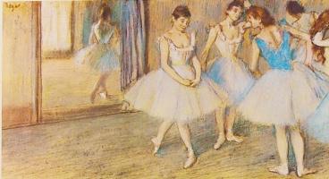 Хесус Эльгера Аусенсиа. Балерины в студии