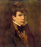 Jacques-Louis David. Portrait of the artist Jean Auguste Dominique Ingres