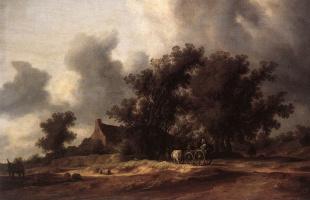 Саломон Якобс ван Рейсдал. После дождя