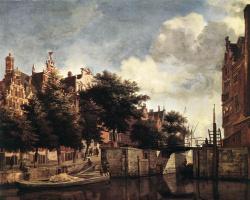 Ян ван дер Хейден. Облака
