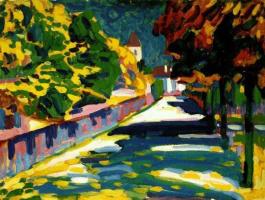 Wassily Kandinsky. Autumn in Bavaria