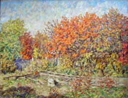 Urii Parchaikin. Осенний сад