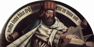 Хуберт ван Эйк. Пророк Захария