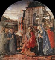 Франческо ди Джорджио Мартини. Поклонение