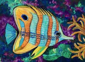 Larissa Lukaneva. Tropical fish 3