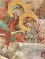 Джотто ди Бондоне. Сцены из Нового Завета. Скорбь. Фрагмент