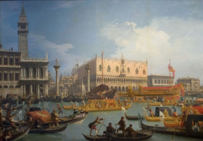 Праздник обручения венецианского дожа с Адриатическим морем
