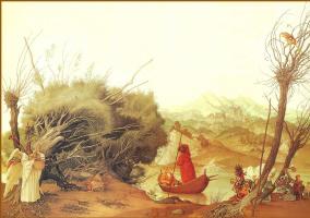 Андрей Дружин. Лодка