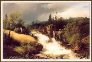 Герман Оттомар Герцог. Водяная мельница