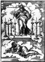 Тициан Вечеллио. Воззвание Господа к Иоанну
