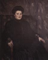 Vasily Ivanovich Surikov. Portrait Of A. N. Tretyakova