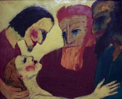 Эмиль Нольде. Христос и грешница