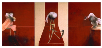 Три этюда к фигурам у подножия распятия (вторая версия)