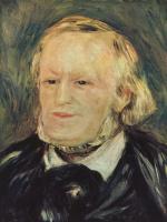 Pierre Auguste Renoir. Portrait Of Richard Wagner