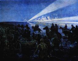 Михаил Иванович Авилов. Переход через Сиваш. 1927