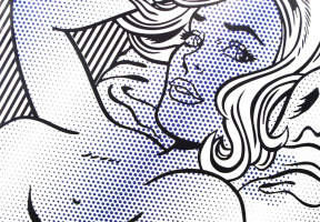 Roy Liechtenstein. The seductress