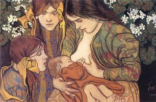 Материнство. 1905